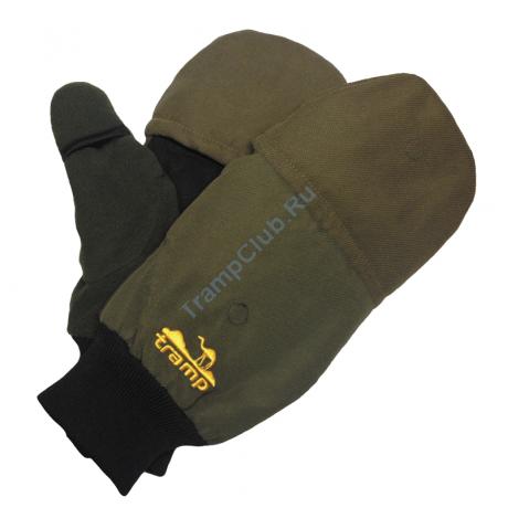 Варежки Magnet мужские (хаки, размер L/XL) - Tramp TRCA-004